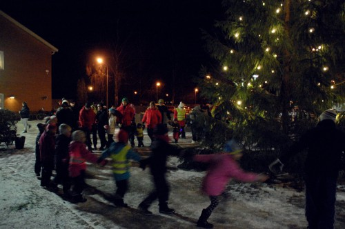 Julgransplundring vid Sörgården @ Torget vid Sörgården
