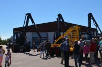 Rottne Industri hade många intresserade besökare
