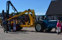 Rottne Industri visade sin anläggning och både gamla och nya skogsmaskiner