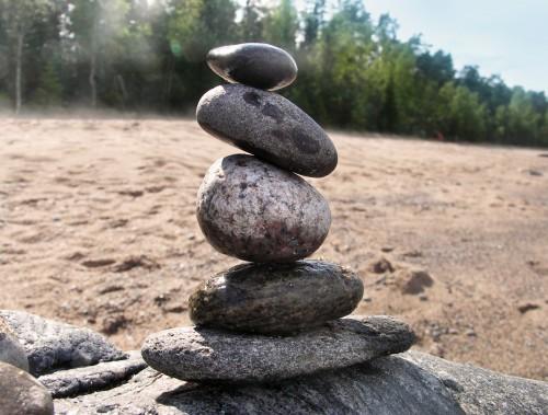 Mindfulness stenar