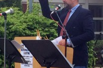 Årets talare var rektor Joachim Åberg