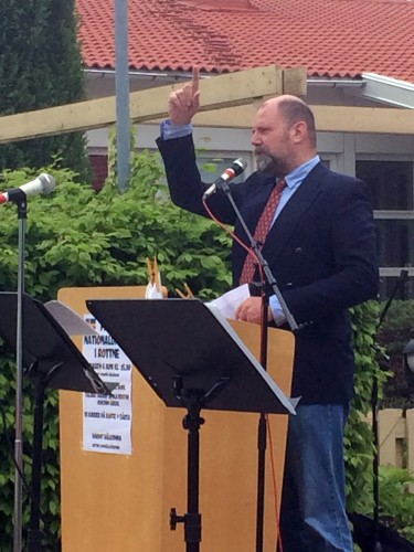 Årets talare var Joachim Åberg, rektor på Söraby skola