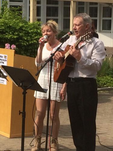 Boel Birgersson och Lars Johansson