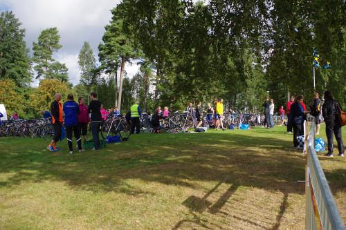 Deltagarnas cyklar