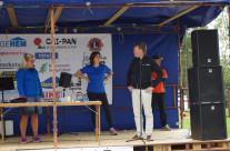 Huvudsposorn Vidingehem på scenen