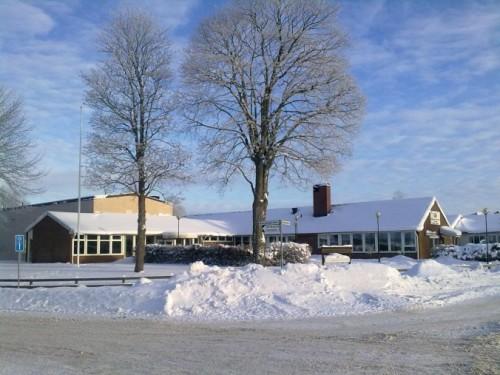 Ett snöklätt Rottnegården. Foto: Rottnegården