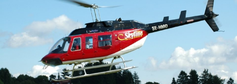 Rundflygning med helikopter